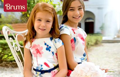 Brums. Коллекция весна-лето 2018 для детей от 0 до 16 лет
