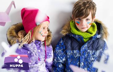 Huppa. Распродажа верхней одежды для детей