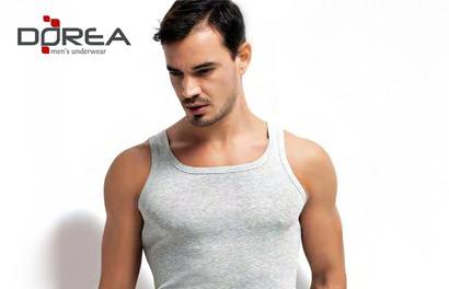 Dorea. Мужское нижнее белье и футболки